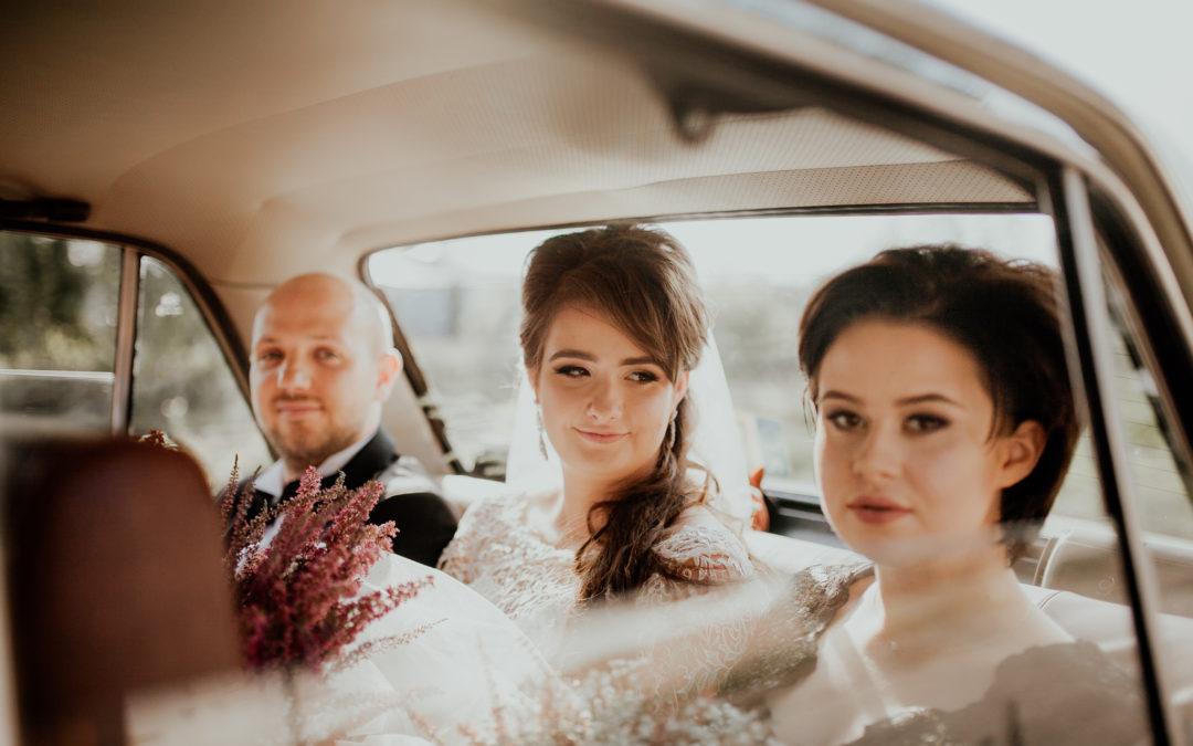 Plenerowy ślub Gosi i Przemka